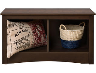 Medwin Brown Entry Bench, , large
