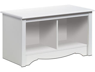 Medwin White Entry Bench, , large
