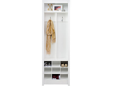 Griffin White Entry Storage, , large