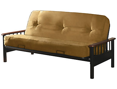 Futon w/ Mattress, , large
