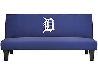 team tigers futon clearance  u0026 discount futons   art van furniture  rh   artvan