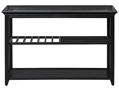 Sandpiper Sofa Table, Black, , large