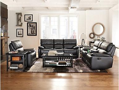 Sandpiper Black Sofa Table, , large