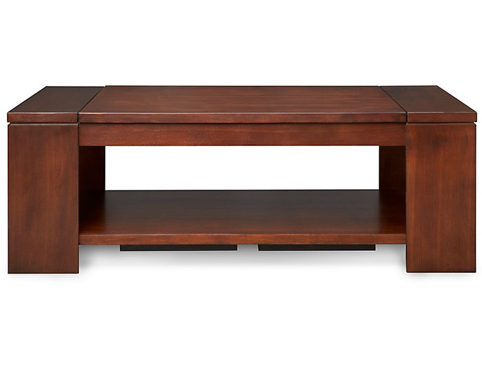 Awe Inspiring Waverly Brown Lift Top Coffee Table Pabps2019 Chair Design Images Pabps2019Com