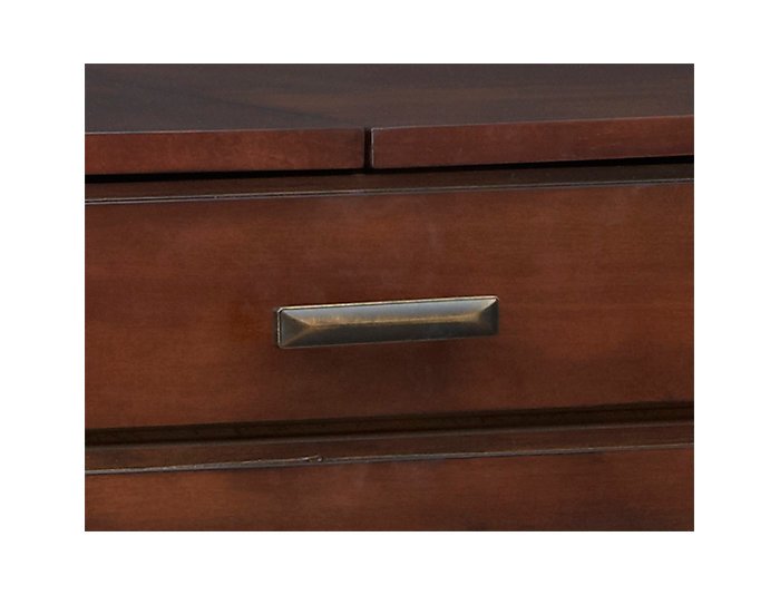 Miramar Sofa Table-Desk, Brown, , large