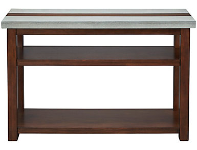 Cascade Brown Sofa Table, , large