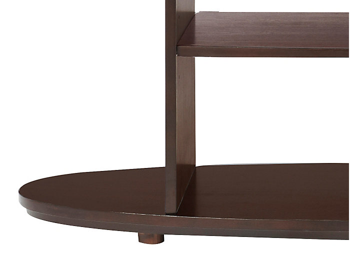 Metropolitan Sofa Table, Brown, , large