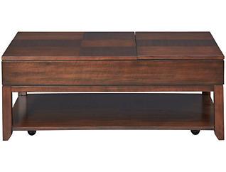 Daytona LiftTop Coffee Table, Brown, , large