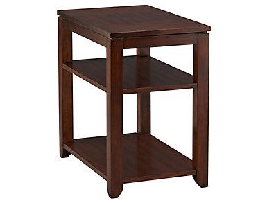 Daytona Brown Chairside Table, , large