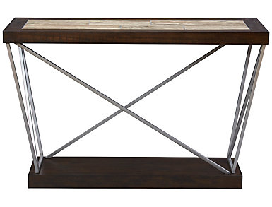 East Bay Brown Sofa Table, , large