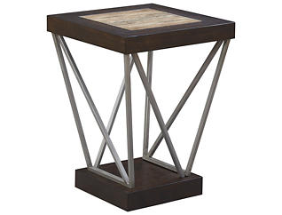 East Bay Chairside Table, Brown, , large