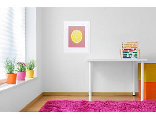 Lemon Squeeze Framed Wall Art, , large