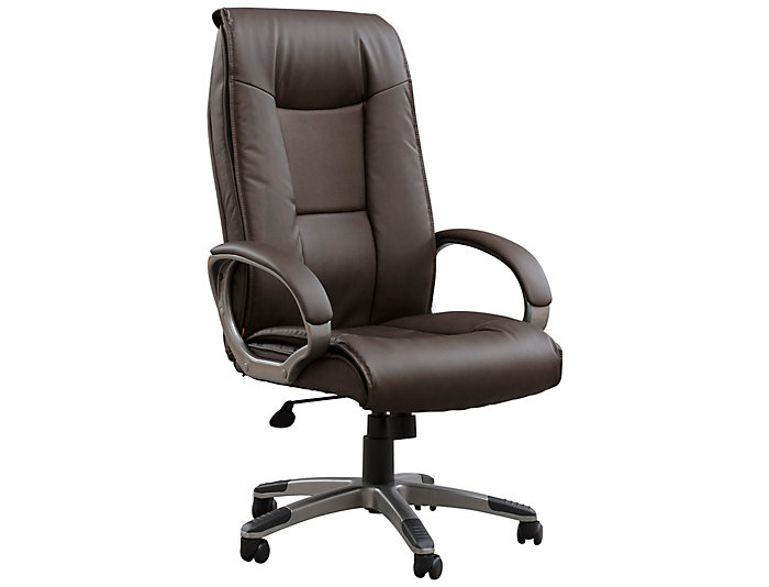 Monroe Brown Office Chair, , large