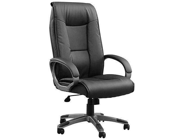 Monroe Black Office Chair, , large