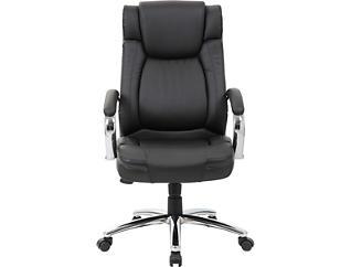 Racine Black Desk Chair, , large