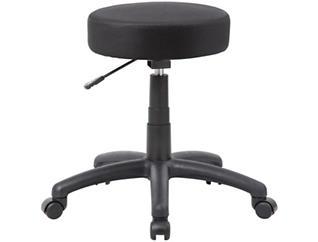 Dot Black Desk Stool, , large