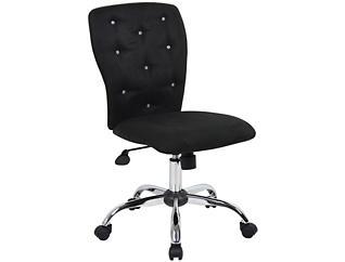 Tiffany Black Desk Chair, , large