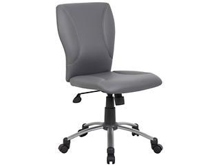 Tiffany Grey Desk Chair, , large