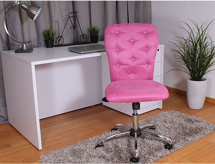 Tiffany Pink Desk Chair, , large