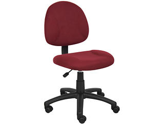 Jude Red Desk Chair, , large
