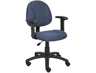 Jude Blue Arm Desk Chair, , large