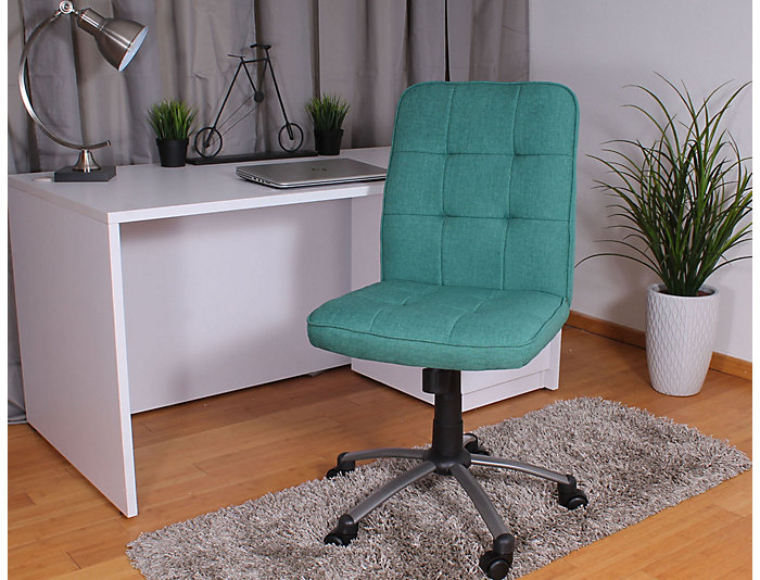Boston Teal Desk Chair, , large
