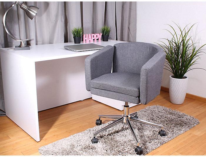 Metro Club Grey Desk Chair, , large