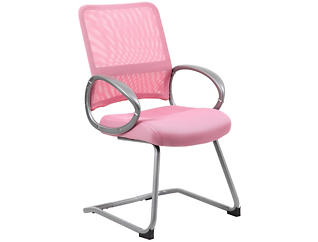 Jesse Pink Stationary Chair, , large