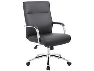 Reed Black Desk Chair, , large
