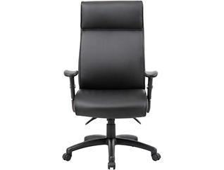 Shay High-Back Black Desk Chair, , large