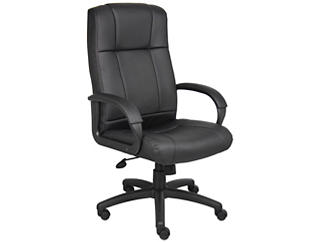 Avery High Back Desk Chair, , large
