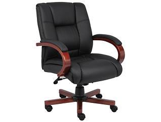 Zane I Mid Back Desk Chair, , large