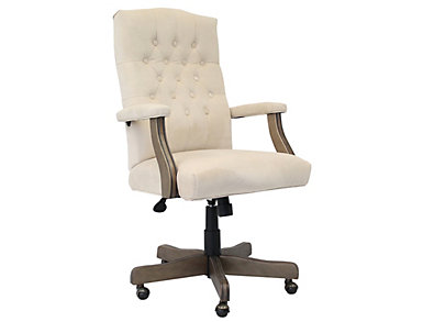 Florian Champagne Desk Chair, , large