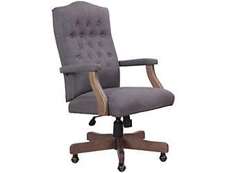Classic Grey Desk Chair
