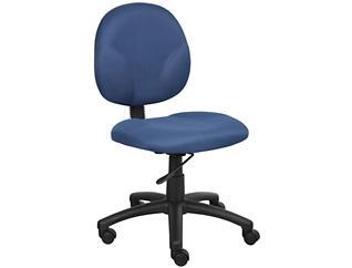 Diamond Blue Desk Chair, , large