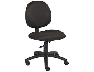 Diamond Black Desk Chair, , large