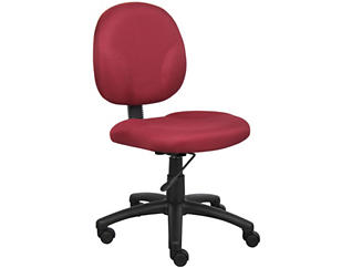 Diamond Red Desk Chair, , large
