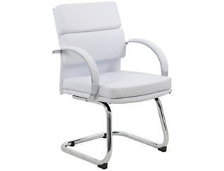 Reese White Stationary Chair, , large