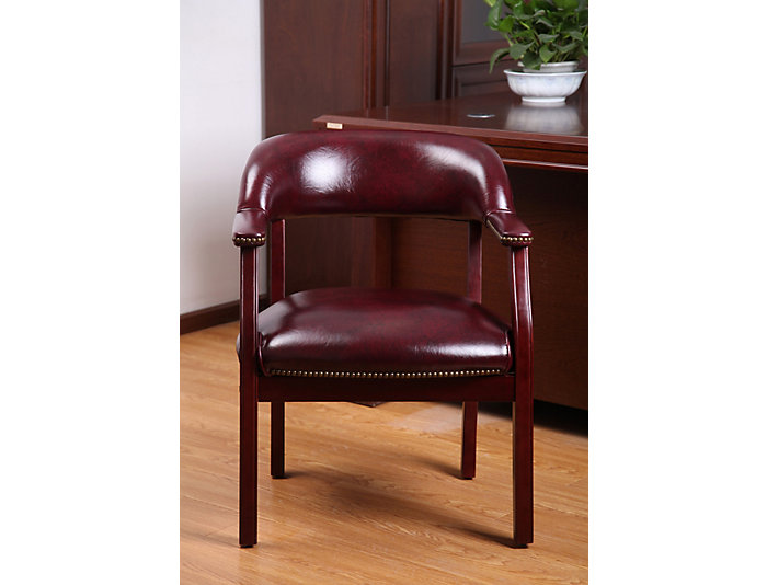 Harper Red Side Chair, , large