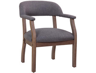Harper Grey Side Chair, , large