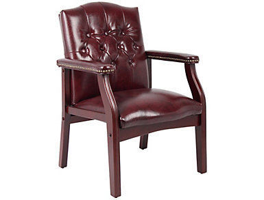 Carter Red Side Chair, , large