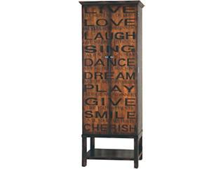 Live,Love,Laugh 2 Door Cabinet, , large