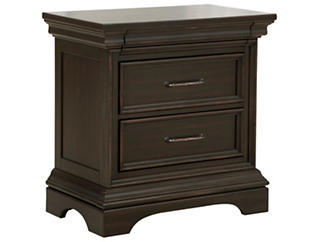 Caldwell 3 Drawer Nightstand, , large