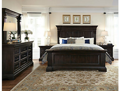 Caldwell King Panel Bed, , large