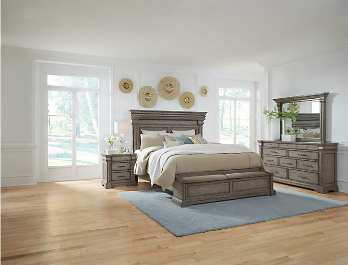 Madison Ridge King Storage Bed