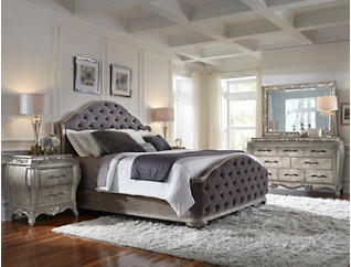 Rhianna Queen Upholstered Bed, , large