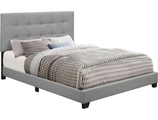 Glacier Tufted Queen Bed, , large