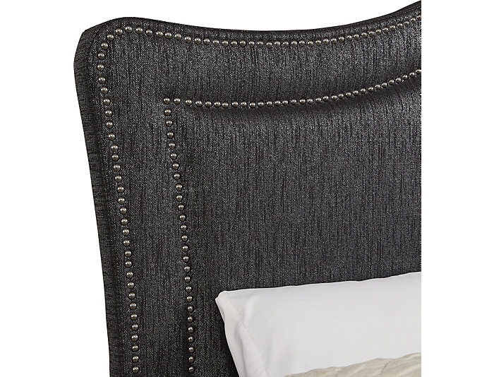 Queen All-N-One Glitz Onyx Bed, , large