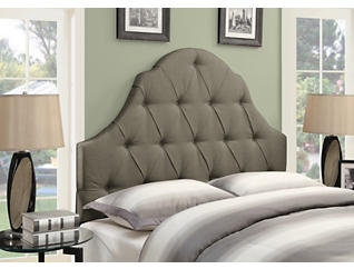 King Camel Taupe Headboard, , large