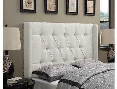 Shelter Linen Queen Headboard, , large